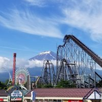 梅雨の富士山
