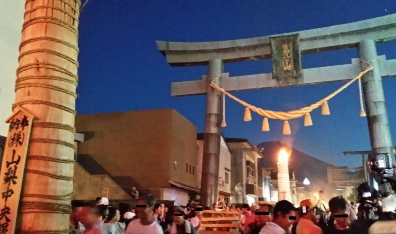 吉田の火祭り