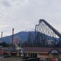 富士山雪化粧