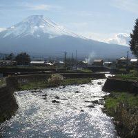 富士山と宮川