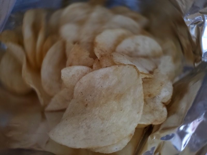 ポテトチップス納豆味