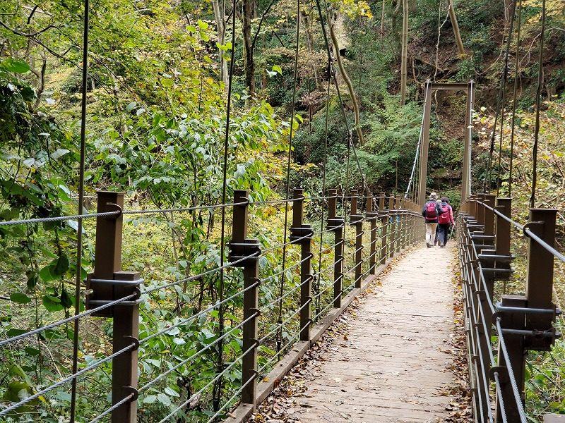 みやま橋(つり橋)