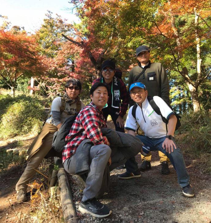 高尾山記念写真