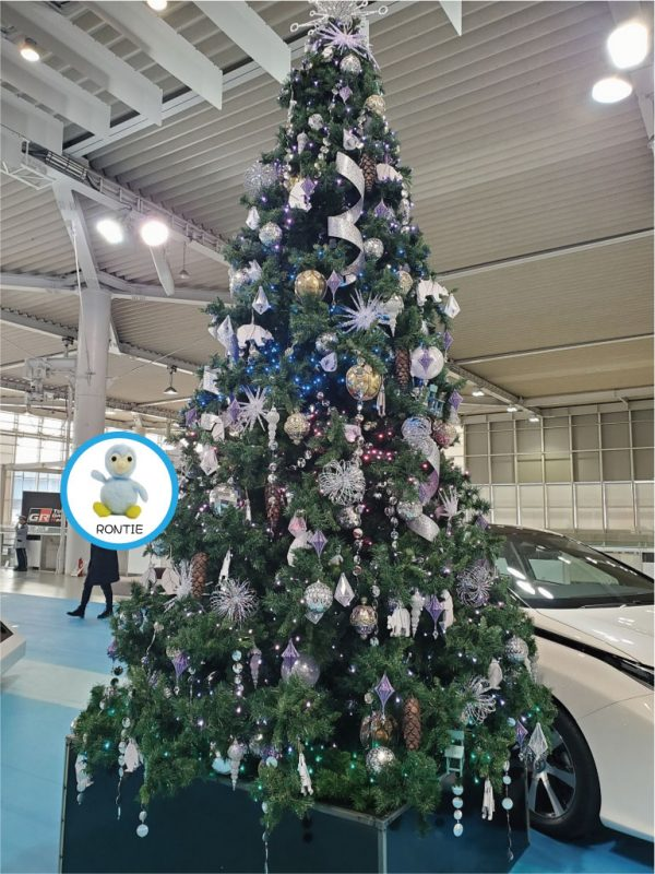 クリスマスツリーでロンティーを探せ