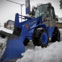 富士吉田市の積雪