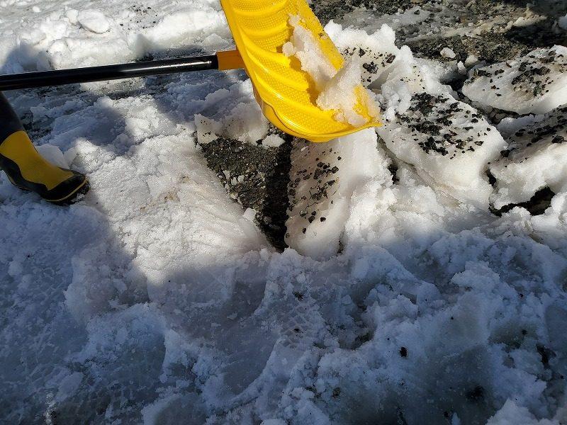 雪のミルフィーユ