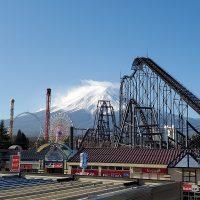 富士山の日の富士山