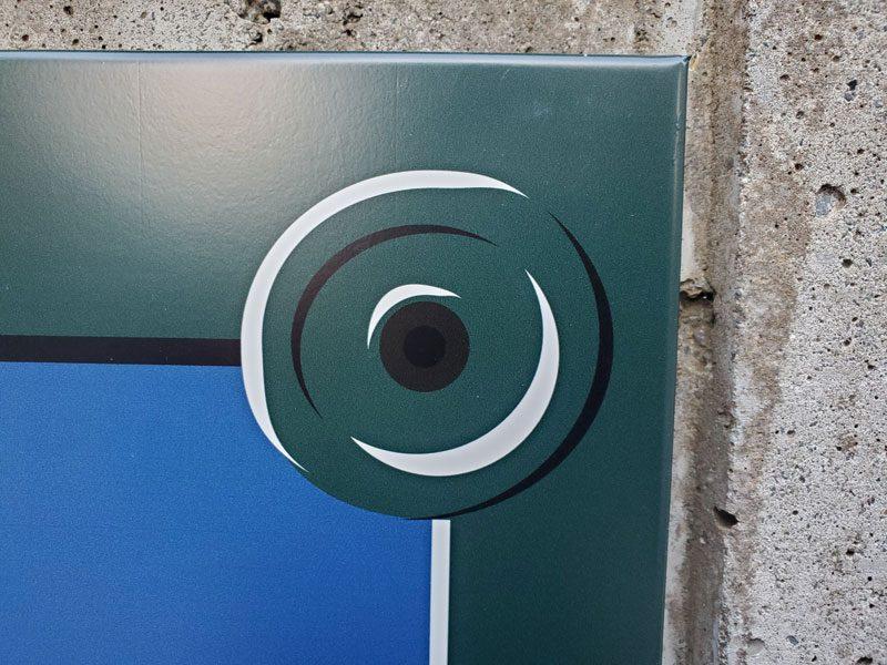 パリの道路看板
