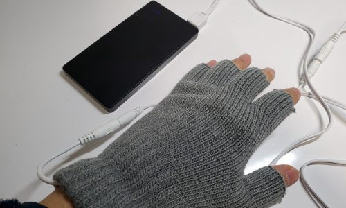 洗えるUSBヒーター手袋