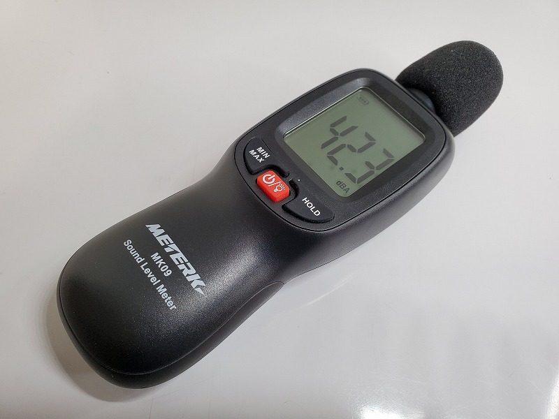 Meterk 騒音計 騒音測定器 ノイズ測定器