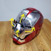 アイアンマン(ironman)MK5 のヘルメット